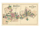 1875, Uhrichsville, Canal Dover, Ohio, United States Giclee Print