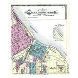 1913, Hannibal City - Sections 21, 27 and 28, Missouri, United States Giclee Print
