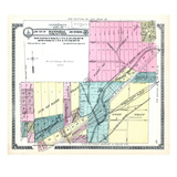 1913, Hannibal City - Section 31, Section 32 - Part, Section 36 - Part, Oakwood - Part, Missouri, U Giclee Print