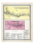 1869, Londonderry South, Londonderry, Vermont, United States Giclee Print