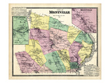 1868, Montville Town, Montville, Uncasville, Connecticut, United States Giclee Print