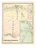 1875, LaGrange, Edinburg, Alton, Maine, United States Giclee Print