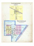 1903, Clayton Station, Moundville, Missouri, United States Giclee Print