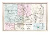 1875, Kenduskeag, Glenburn, Levant, Higginsville, Maine, United States Giclee Print