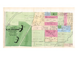 1873, Kalamazoo, Insane Asulum, Michigan, United States Giclee Print