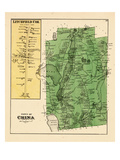 1879, China, Litchfield, Maine, United States Giclee Print
