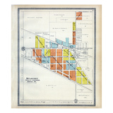 1903, Mulberry, Indiana, United States Giclee Print