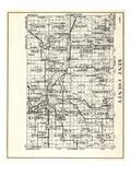 1930, Kent County, Tyrone, Solon, Nelson, Spencer, Sparta, Algoma, Courtland, Oakfield, Alpine, Gra Giclee Print