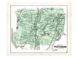 1879, Winthrop, Maine, United States Giclee Print