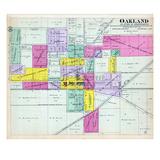 1893, Oakland, Illinois, United States Giclee Print