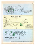 1879, Poolesville, Damascus, Barnesville, District of Columbia, United States Giclee Print