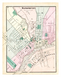 1875, Bangor, Maine, United States Giclee Print