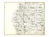 1930, Oceana County, Pentwater, Weare, Crystal, Colfax, Golden, Hart, Elbridge, Leavitt, Benona, Sh Giclee Print