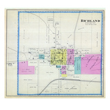 1887, Richland, Iowa, United States Giclee Print