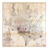 1891, Underground Cables, District of Columbia, United States Giclee Print