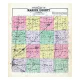 1892, Marion County, Illinois, United States Giclee Print