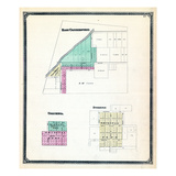 1875, East Connersville, Columbia, Everton, Indiana, United States Giclee Print