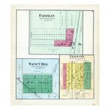 1892, Fairman, Walnut Hill, Vernon, Illinois, United States Giclee Print