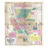 1872, Elgin, Illinois, United States Giclee Print