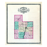 1875, Fayette County, Indiana, United States Giclee Print