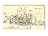 1881, Bucksport Village, Maine, United States Giclee Print
