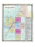 1874, Chenoa, Illinois, United States Giclee Print