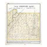 1872, Cincinnati Township, Illinois, United States Giclee Print