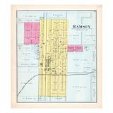 1891, Ramsey, Illinois, United States Giclee Print