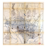 1891, Water Supply & Distribution, District of Columbia, United States Giclee Print