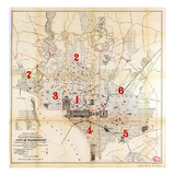 1891, Police and fire Departments, District of Columbia, United States Reproduction procédé giclée