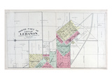 1912c, Lebanon - North, Missouri, United States Giclee Print
