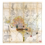 1891, Valuation of Real Property, District of Columbia, United States Reproduction procédé giclée