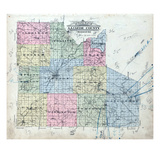 1912c, Index Map, Missouri, United States Giclee Print