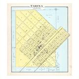 1891, Farina, Illinois, United States Giclee Print