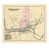 1886, Bridgeport, West Virginia, United States Giclee Print