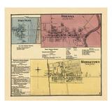 1868, Port Penn, Odessa, Middletown, Delaware, United States Giclee Print