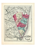 1873, Ocean County, New Jersey, United States Giclee Print