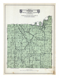 1929, Tyrone Township, Minnesota, United States Giclee Print