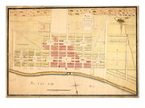 1796c, Savannah 1796, Georgia, United States Giclee Print
