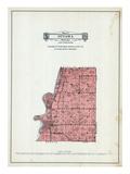 1929, Ottawa Township, Minnesota River, Minnesota, United States Giclee Print