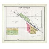 1892, Cary Station, Illinois, United States Giclee Print