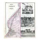 1872, Pekin Township, Illinois River, Illinois, United States Giclee Print
