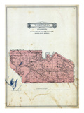 1929, Washington Township, Marysburg, Linder Bay, Madison Lake, Lake Jefferson, Minnesota, United S Giclee Print