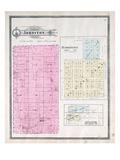 1897, Johnston Township, Sue City, Bloomington, Goldsberry, Missouri, United States Giclee Print