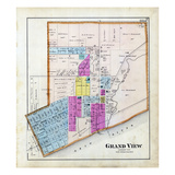 1879, Grand View, Indiana, United States Giclee Print
