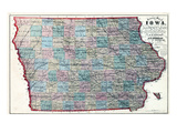 1873, Iowa, United States Giclee Print