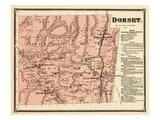 1869, Dorset, Vermont, United States Giclee Print