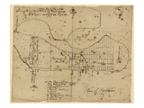 1820, Portland, Maine, United States Giclee Print