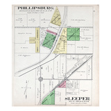 1912c, Phillipsburg, Sleeper, Missouri, United States Giclee Print