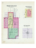 1895, Brownington, Huntingdale, Mt. Zion P.O., Missouri, United States Giclee Print